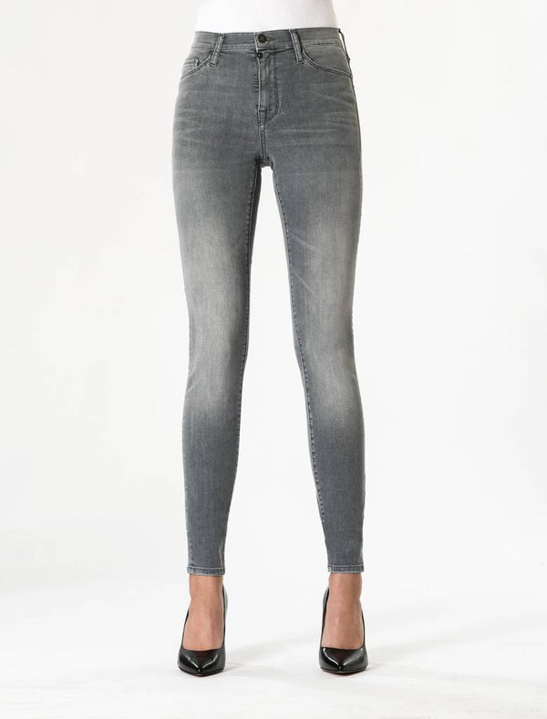 Sophia - Super Skinny Stretch - Dark Grey Vintage