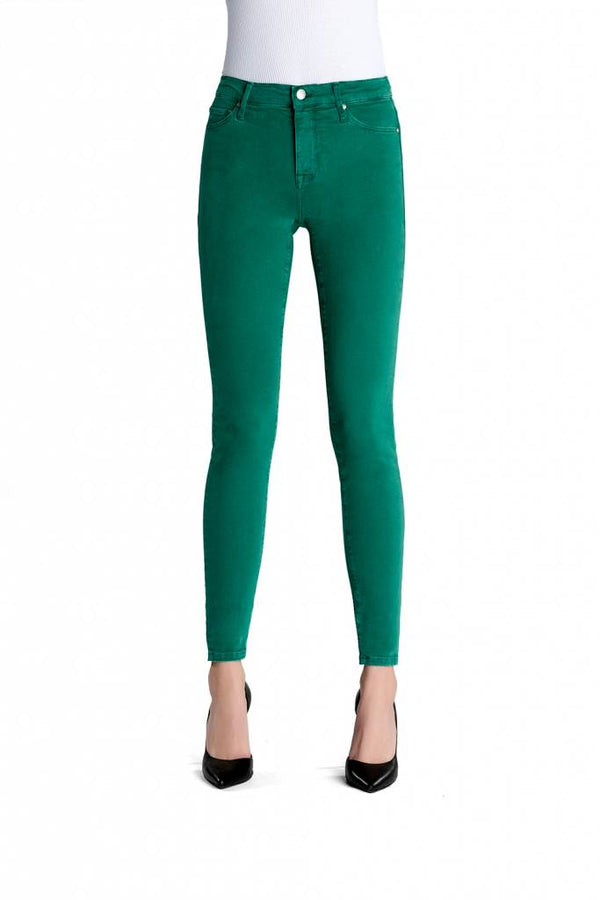 Sophia Light Green Reshaped Jeans