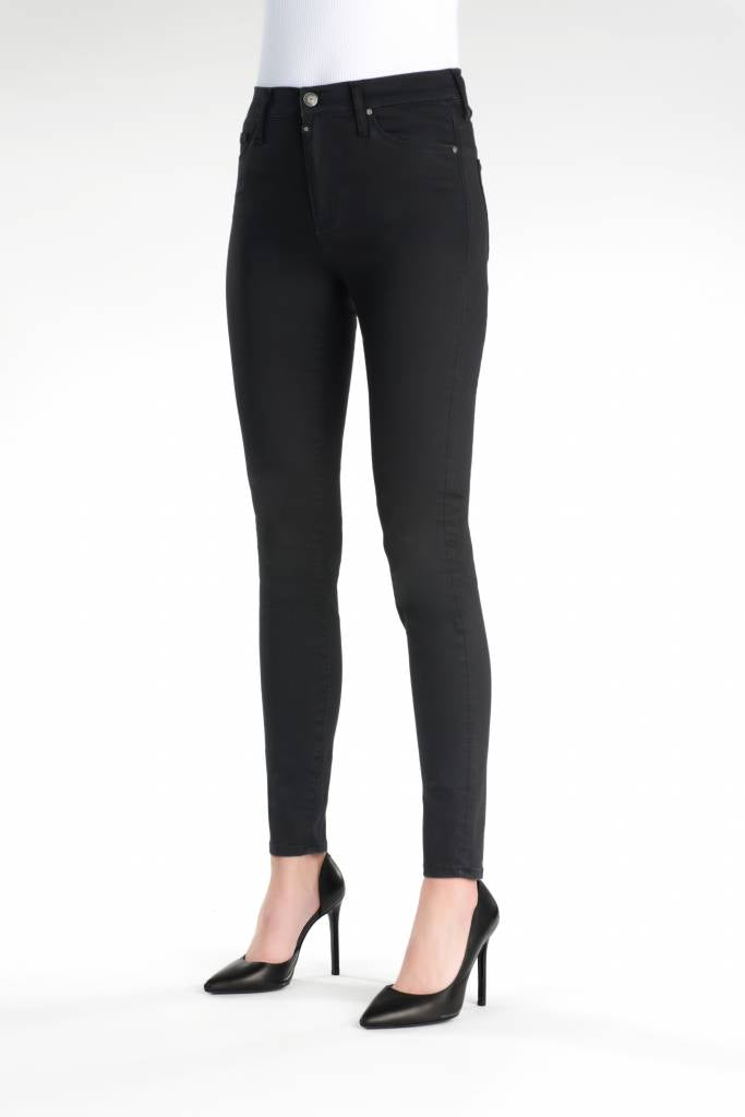 Sophia - Super Skinny Stretch - Satin Black