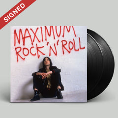MAXIMUM ROCK 'N' ROLL: THE SINGLES (VOLUME 1) - 2LP (SIGNED) + T-SHIRT