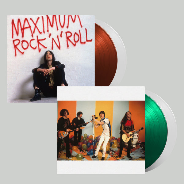 MAXIMUM ROCK 'N' ROLL: THE SINGLES (VOLUMES 1 +  2) - GREEN/RED 2LP