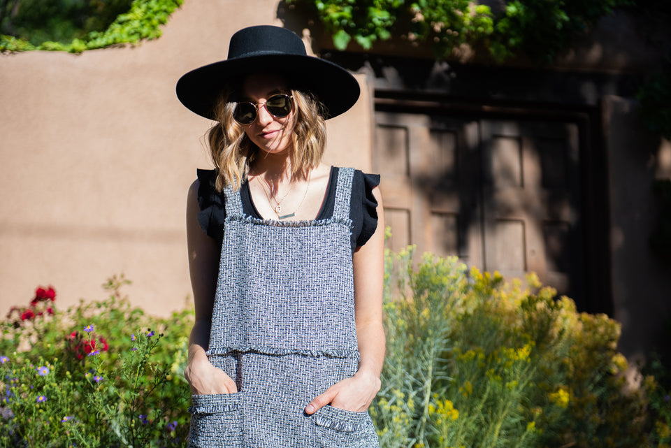 Fall Pinnie Dress