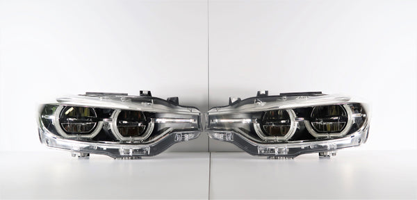 New BMW 3 Series F30 LED Headlights | 7453491 | 7453492
