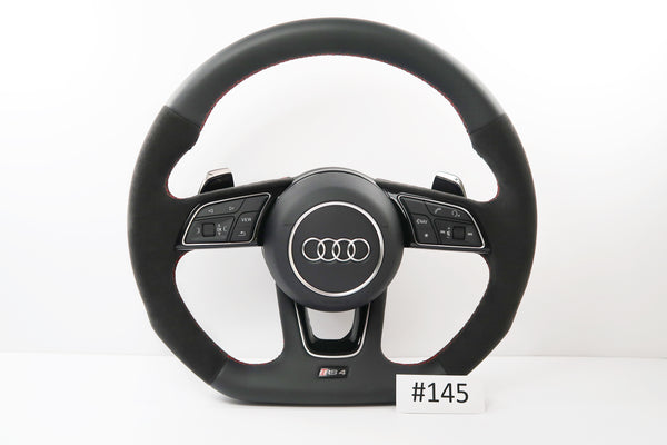 New Audi A4 / S4 / RS4 Steering Wheel With Airbag | 8V0419091CD | #145
