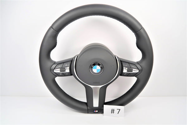 New BMW 1, 2, 3, 4 Series X3 / X4 / X5 / X6 / F15 / F16 / F20 / F22 / F30 Steering Wheel With Airbag | 32307848338 | 32307845798 | #7