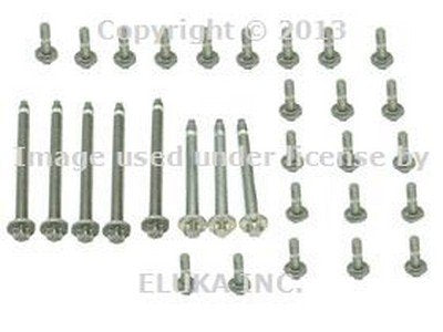 BMW Engine Oil Pan Bolt Kit (06-10) (Aluminum) OEM