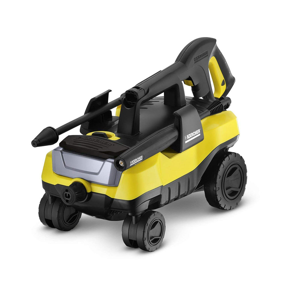Karcher K3 Follow-Me Electric Power Pressure Washer including 4 Rolling Wheels, 1800 PSI, 1.3 GPM