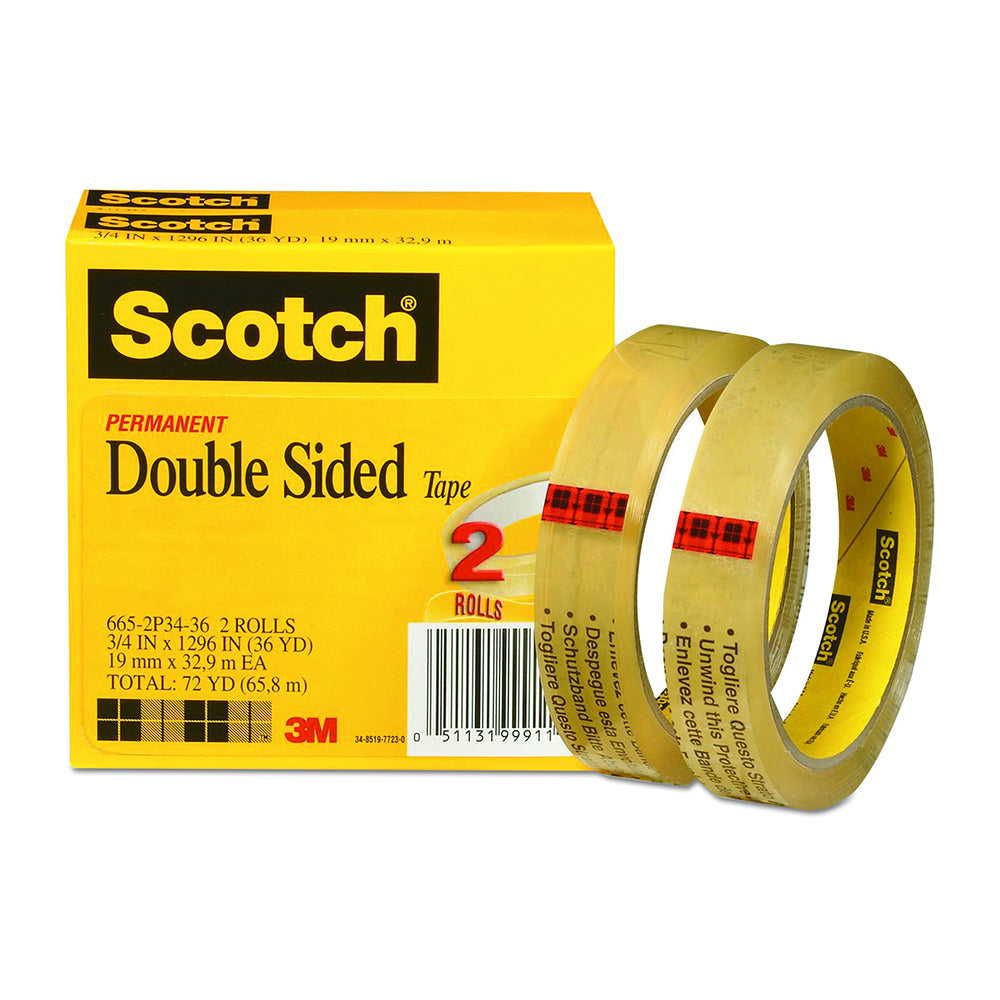 Scotch Magic Tape, multi purpose, Invisible, perfect for Repairing, 3/4 x 1000 Inches, Boxed, 10 Rolls (810P10K)