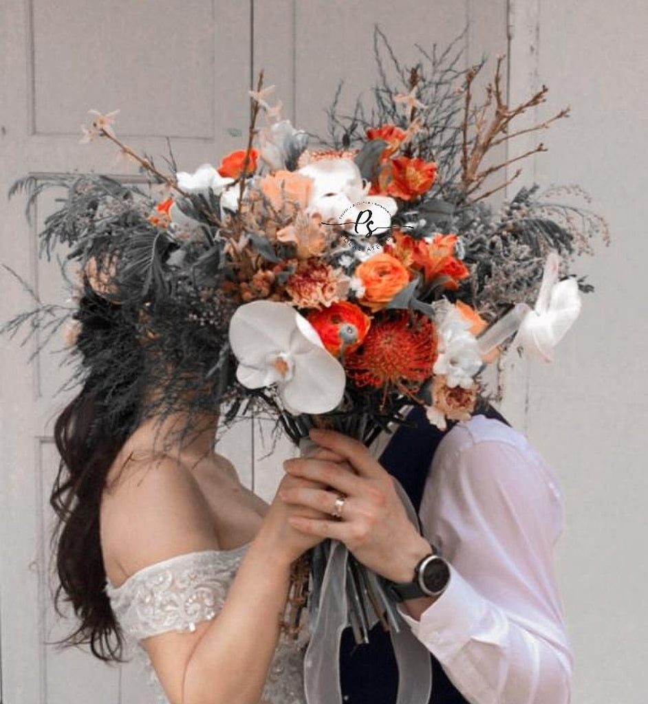 Bohemian Elegance Wedding Bouquet