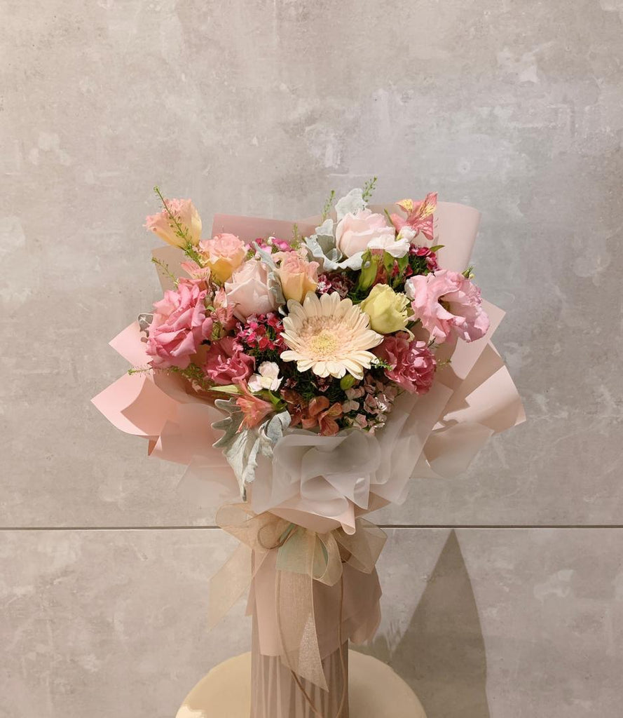 Love from Bottom of my Heart Flower Bouquet