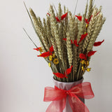 Fortune Grains Vase arrangement