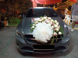 Wedding Car Decoration - Pom Pom Floral
