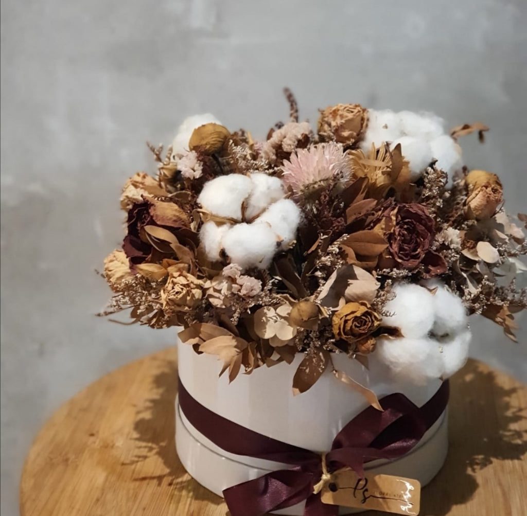 Cotton Candy Dry Flower Box