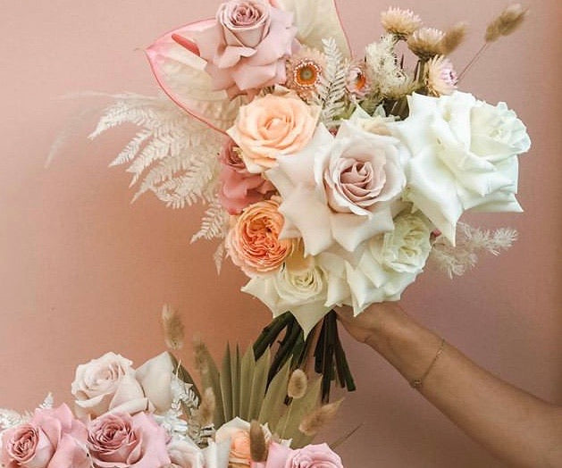 Insta Moodboard Flower Bouquet (Intermediate)