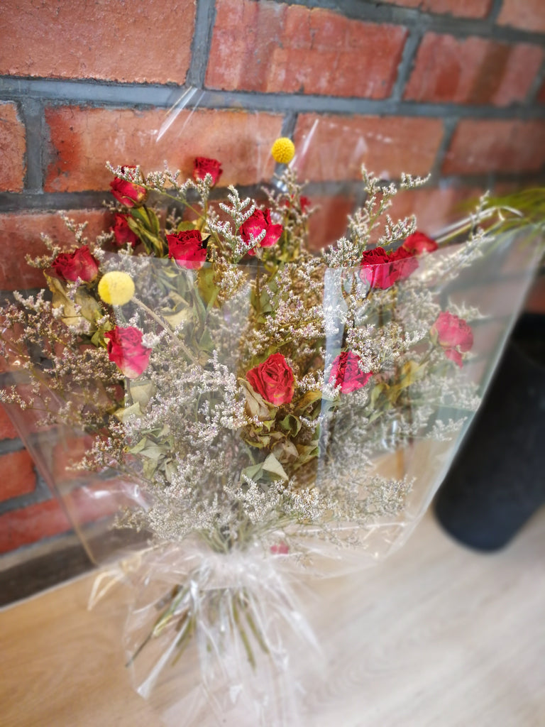 Assorted Dry Flower Display