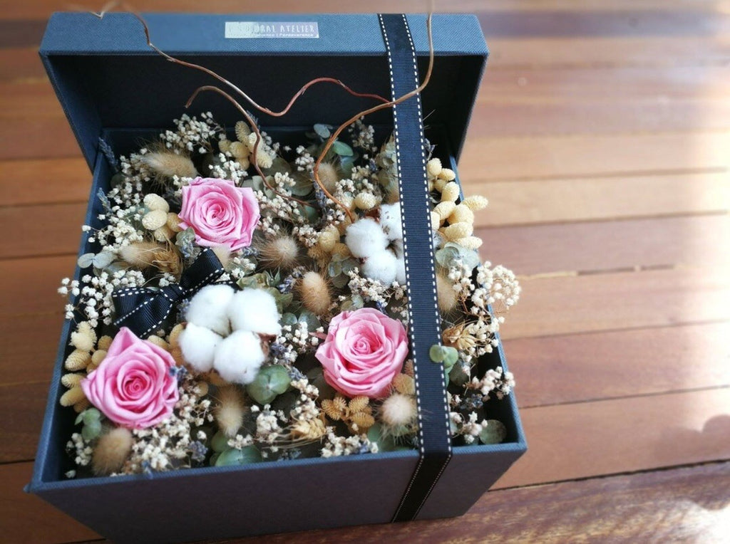 Preserved Rose Flower Box