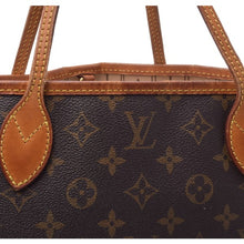 Louis Vuitton Neverfull Canvas Shoulder Bag