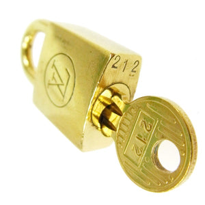 Louis Vuitton Gold-tone Padlock