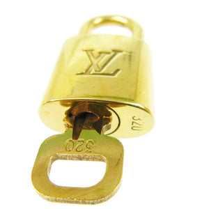 Gold-tone Vintage Louis Vuitton padlock, Silver Louis Vuitton padlock, Louis Vuitton Charms,