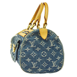 LOUIS VUITTON Denim Neo Speedy the real real
