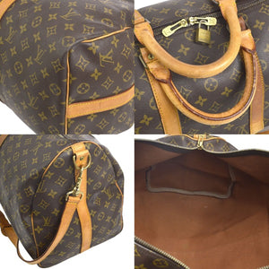 Keepall 50 Bandouliere Travel bag Louis Vuitton,  LOUIS VUITTON Monogram Keepall 50