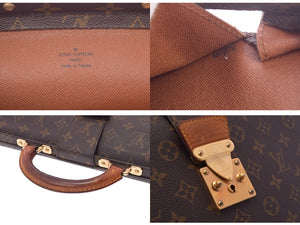 Louis Vuitton Monogram Serviette Fermoir Briefcase