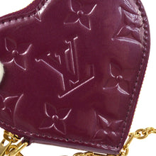 LOUIS VUITTON Vernis Heart Coin Purse Amarant / Purple Stephen Sprouse Heart Coin Monogram Vernis Leather Purse Limited Edition Wallet, Louis Vuitton Christimas gift
