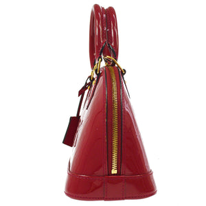 LOUIS VUITTON ALMA VERNIS  MONOGRAM CROSSBODY BAG
