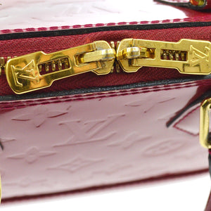 LOUIS VUITTON ALMA VERNIS  MONOGRAM CROSSBODY BAG best price