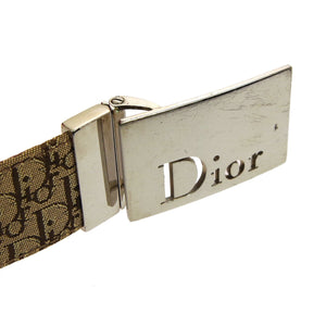 CHRISTIAN DIOR Two-Tone Boston Bag & Belt los angeles
