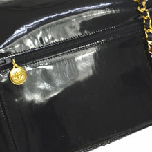 Chanel Vintage Patent E/W Wallet On Chain