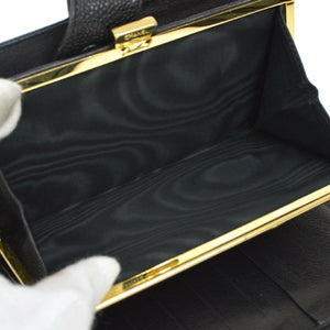 Chanel Black Caviar Timeless Purse Wallet