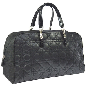 CHRISTIAN DIOR Quilted Cannage Hand Bag the real real