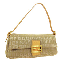 FENDI Zucca Mamma Baguette Shoulder Bag