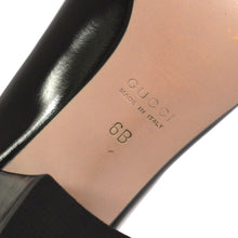 GUCCI GG Black Leather Horsebit Pumps best price