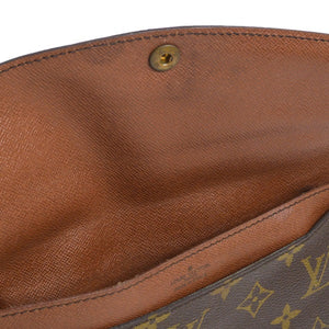 Louis Vuitton Monogram Double Rabat Pochette