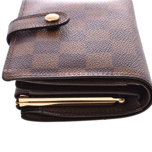 LOUIS VUITTON Damier Ebene Viennois Wallet on Etsy