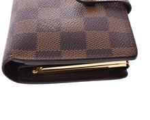 LOUIS VUITTON Damier Ebene Viennois Wallet at vestiaire collective
