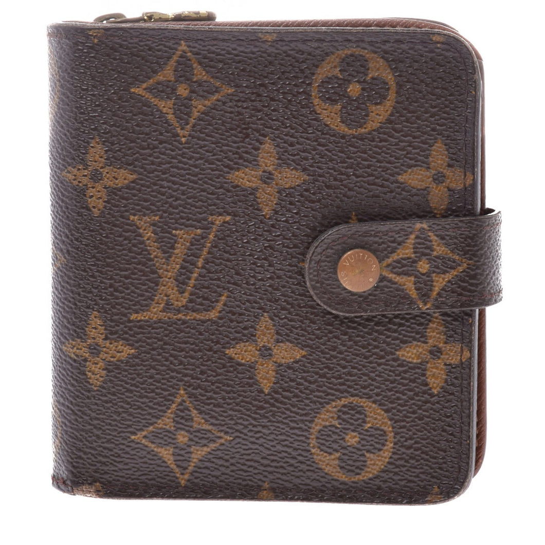 LOUIS VUITTON Monogram Compact Zippé Wallet