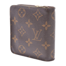 LOUIS VUITTON Monogram Compact Zippé Wallet at the real real