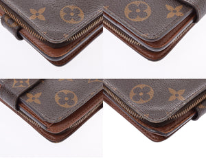LOUIS VUITTON Monogram Compact Zippé Wallet on sale