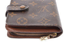 LOUIS VUITTON Monogram Compact Zippé Wallet vestiaire collective