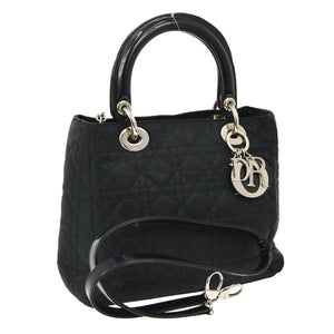 CHRISTIAN DIOR Medium Lady Dior Bag w/ Strap