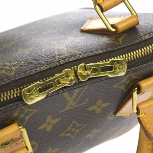 Louis Vuitton Alma Monogram Pm Brown Canvas Leather Satchel at tradesy