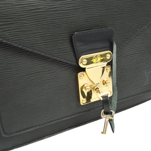 LOUIS VUITTON Epi Monceau Bag on Etsy
