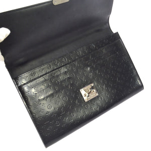 Louis Vuitton black satchel bag
