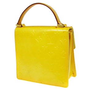 LOUIS VUITTON VERNIS YELLOW Bernini BAG