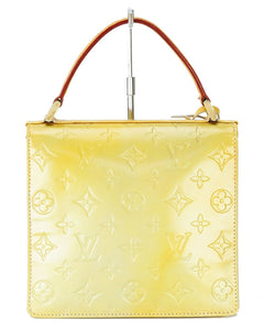 LOUIS VUITTON VERNIS YELLOW SPRING STREET BAG vestiaire collective