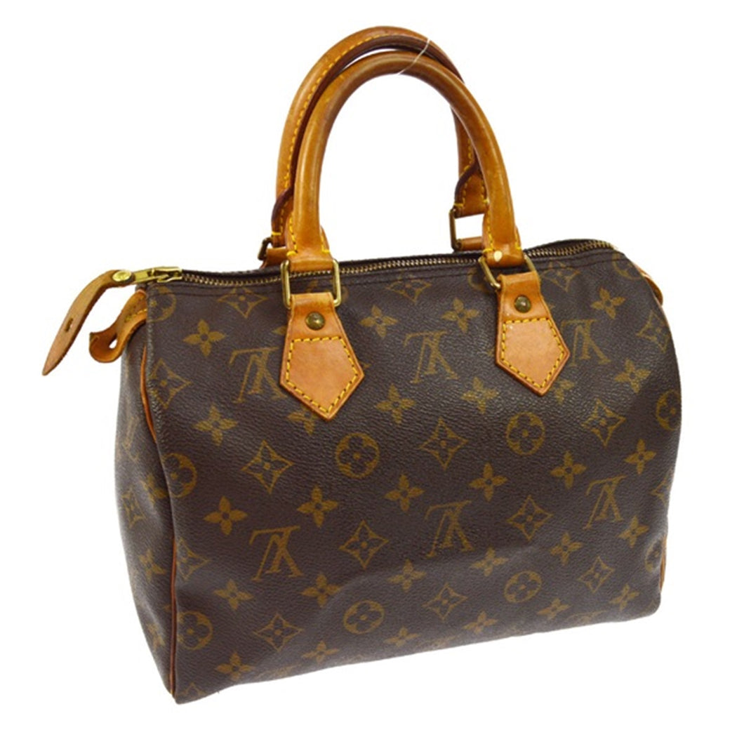 Louis Vuitton Monogram Speedy 25 on etsy
