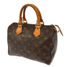 Louis Vuitton Monogram Speedy 25 the real real